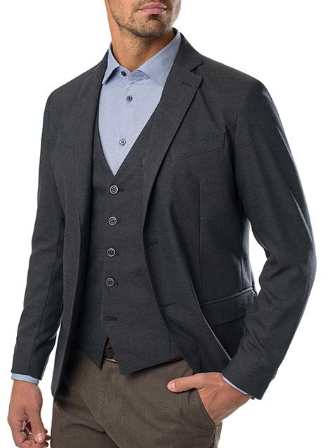 Ανδρικό Σακάκι Manetti formal rusty blue