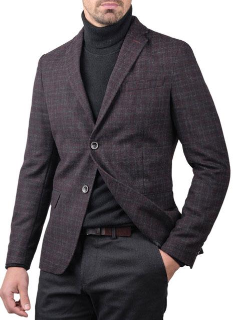Ανδρικό Σακάκι Manetti formal prugna