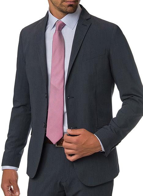 Ανδρικό Σακάκι Manetti formal blue-grey