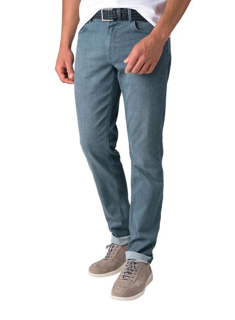 Ανδρικό Jean παντελόνι Manetti cloud blue