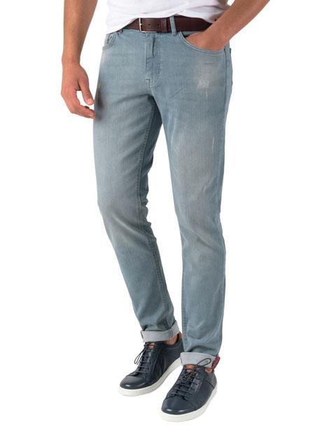 Ανδρικό Jean παντελόνι Manetti light indigo