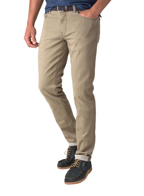 Ανδρικό Jean παντελόνι Manetti khaki brown