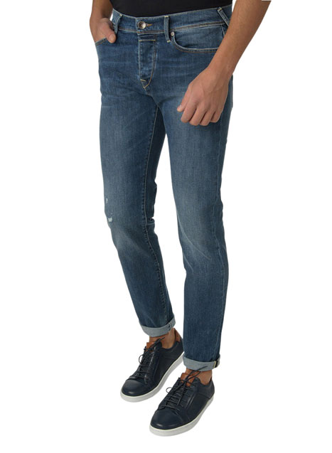 Ανδρικό Jeans Manetti casual blue