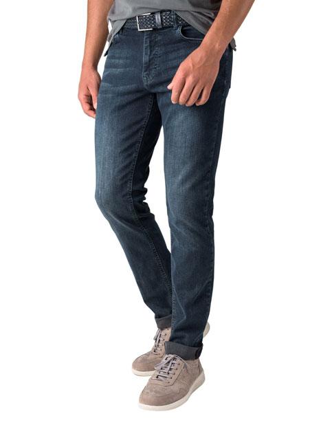 Ανδρικό Jean παντελόνι Manetti dark blue