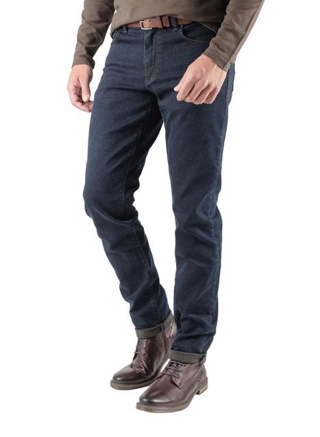 Ανδρικό Jean παντελόνι Manetti rust blue
