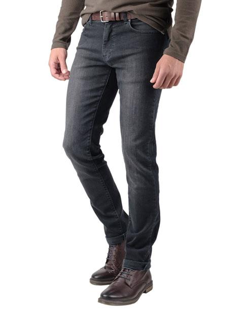 Ανδρικό Jean παντελόνι Manetti aged black