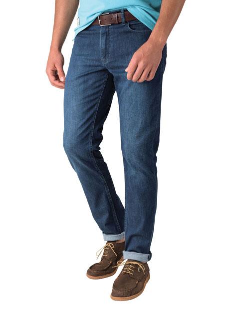 Ανδρικό Jean παντελόνι Manetti denim blue