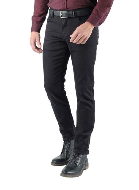 Ανδρικό Jean παντελόνι Manetti total black