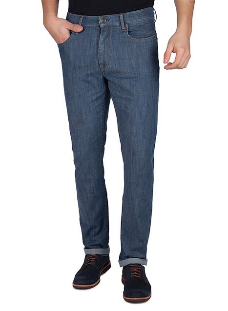 Ανδρικό Jean παντελόνι Manetti casual blue