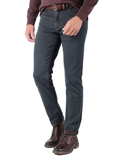 Ανδρικό Jean παντελόνι Manetti grey blue