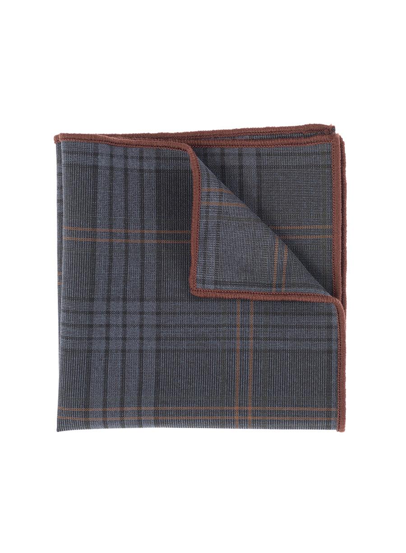 Ανδρικό Μαντήλι Manetti accessories grey blue rust
