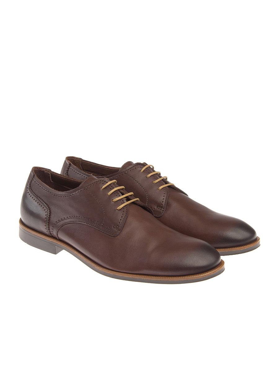 Ανδρικό Παπούτσι δετό Manetti formal brown