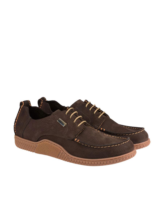 Ανδρικό Δερμάτινο boat shoe Manetti brown